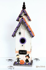 Trick Or Treat Birdhouse *Pebbles*