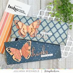 Butterfly Slimline Cards
