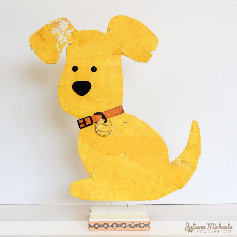Milo Dog Home Decor / Craft Project