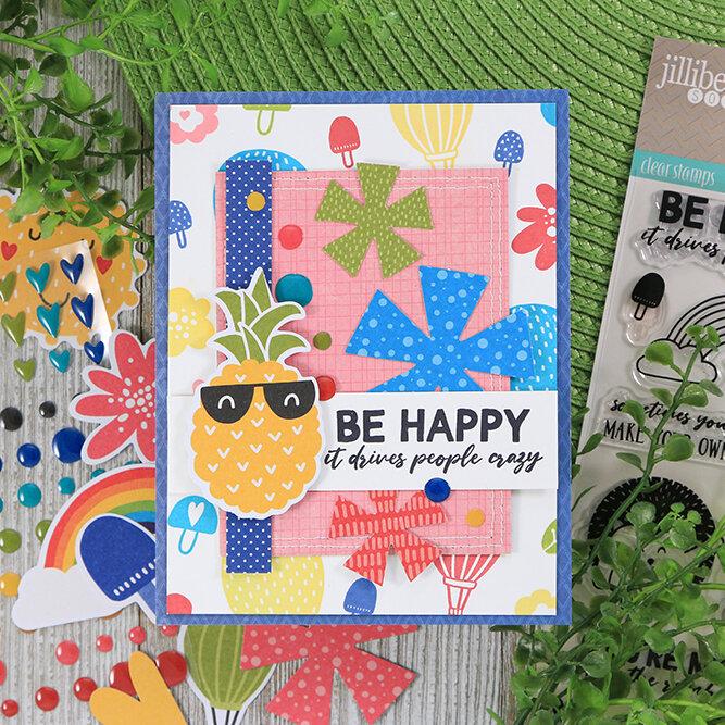 Be Happy Card Jillibean Soup
