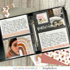Scrapbooking/Pocket Pages with 6x8 Album