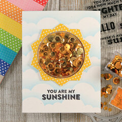 Sunshine Shaker Card *Jillibean Soup*