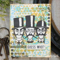 Guess Who Card | Tim Holtz Inquisitive