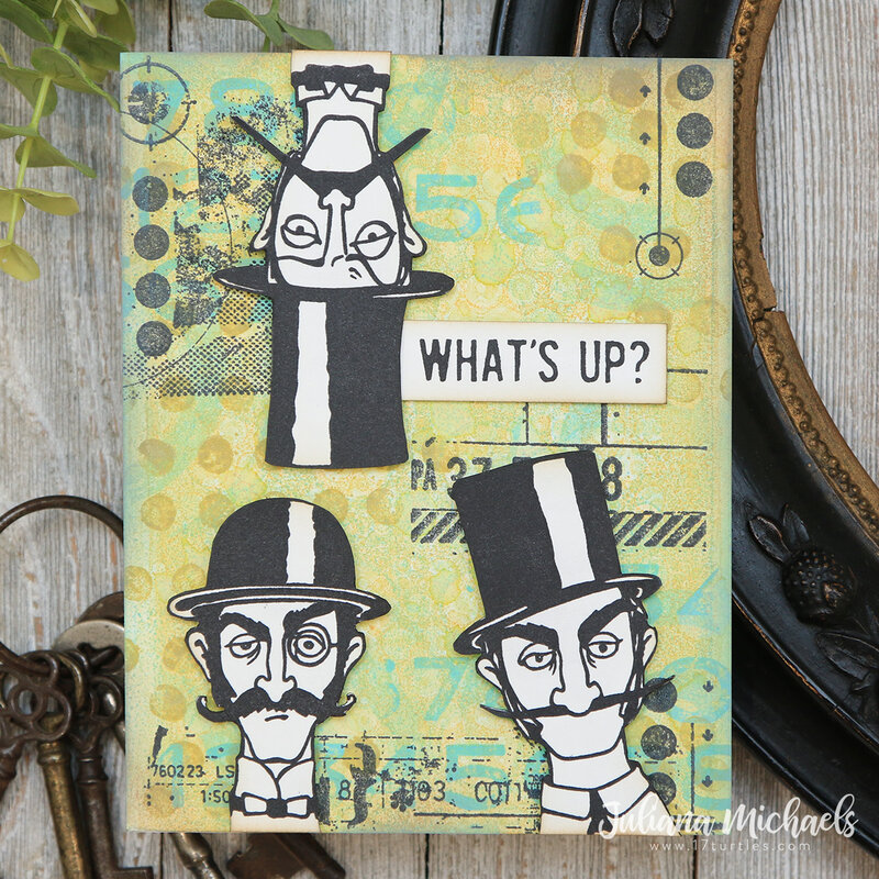 What's Up Card | Tim Holtz Inquisitive