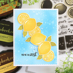 You're the Zest Card *Sunny Studio Stamps*