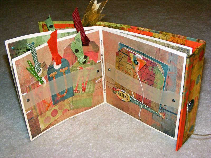 Sassy Scrapper Album: Tags and the Mini Album