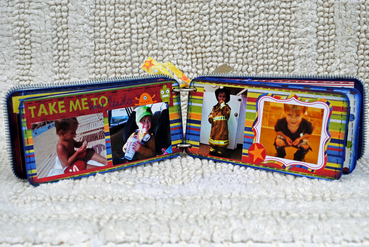 "Maya Road ""Play"" Mini Chipboard Album"