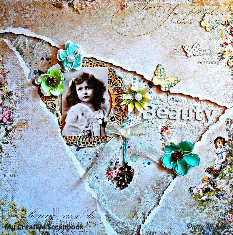 Beauty for *My Creative Scrapbook*