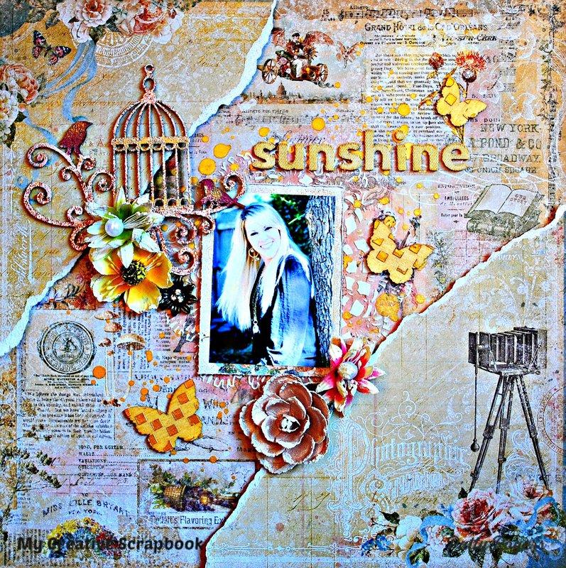 Sunshine for *My Creative Scrapbook*