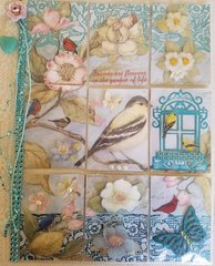 Flora and Fauna themed Pocket Letter