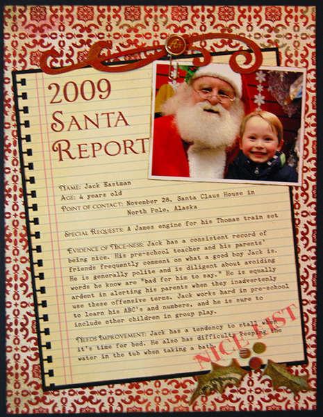 Santa Report