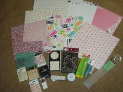 My lastest goodies from sb.com has just arrived ahhh. I love new scrapbook goodies