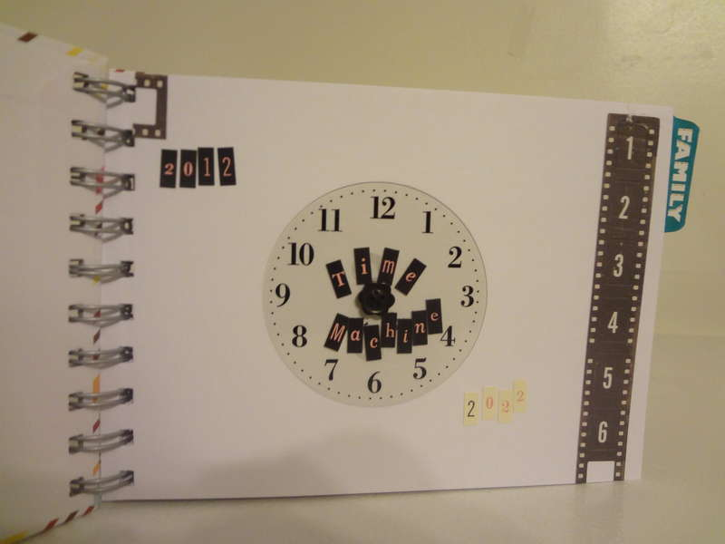 2012 Time Machine Mini Book