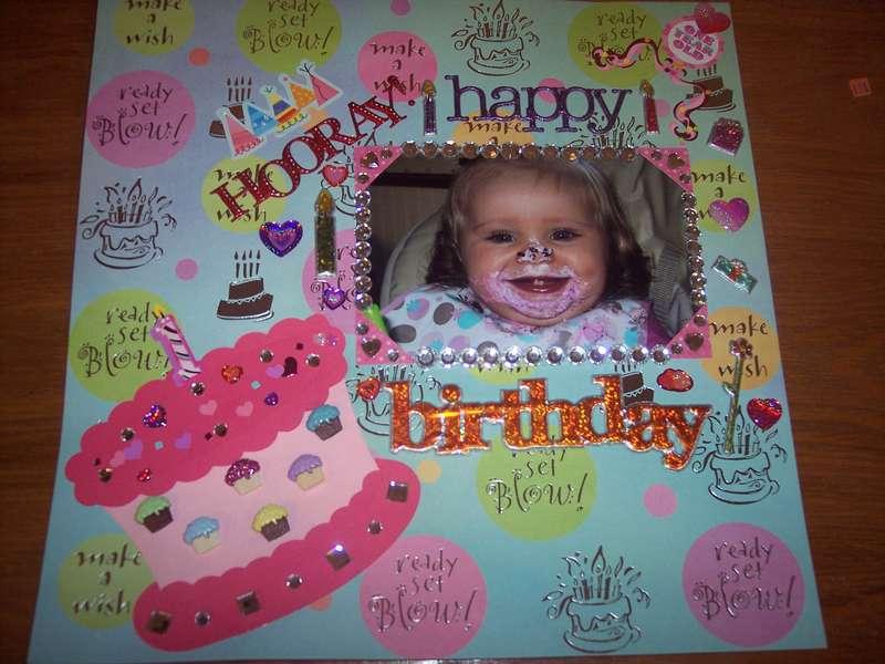 Happy 1st Birthday pg 1