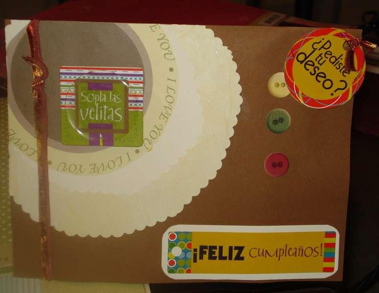 Birthday Card for Husband 2007