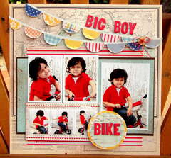 Big boy bike *August Hip 2B Square Kit*
