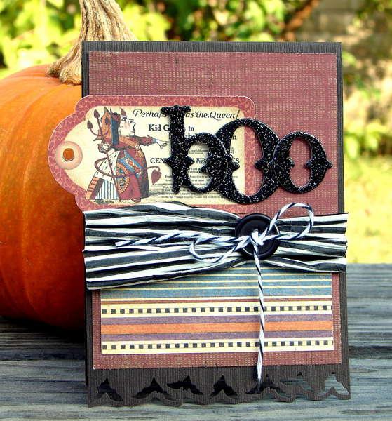 Boo card *Oct. Hip2bsqaure Kit*