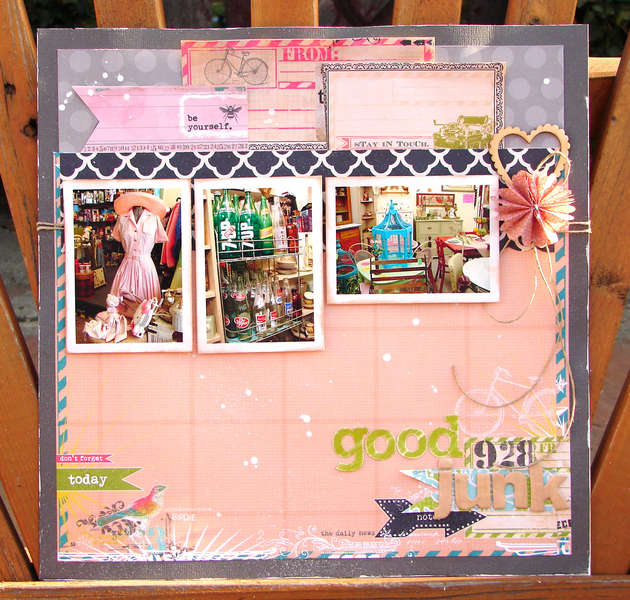 Good junk **HIP2BSQUARE March KIT**
