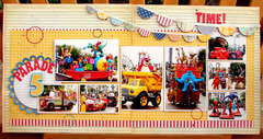 Parade time! * August Hip 2b Square Scrapbooking Kit*