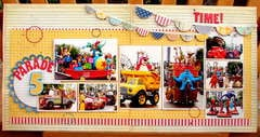Parade time! * August Hip 2b Square Scrapbooking Kit*