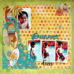 Summer fun *My Creative Scrapbook*