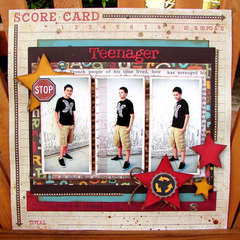 Teenager *Sept. HIP2BSQUARE Kit*