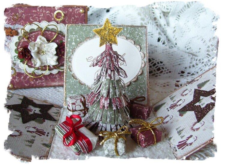 Christmas explodingbox - Inside 2