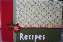 Christmas Recipe Album