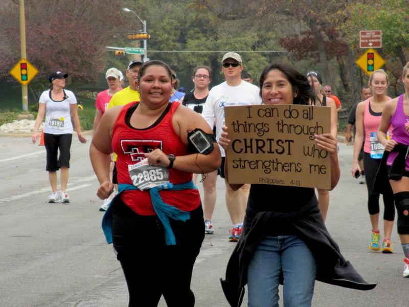Daughter running Half marathon
