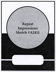 Repeat Impression Card sketch