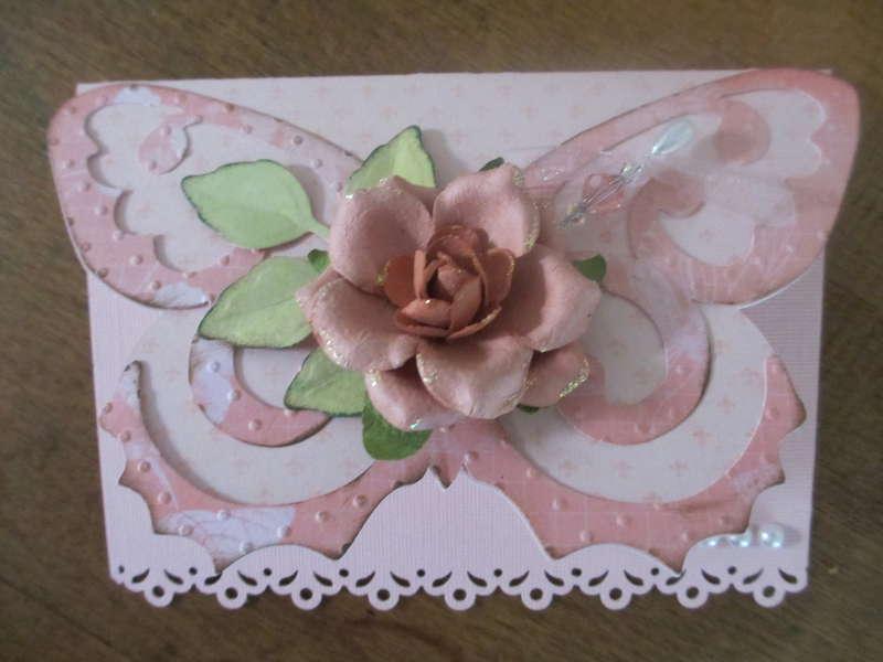Butterfly card #2