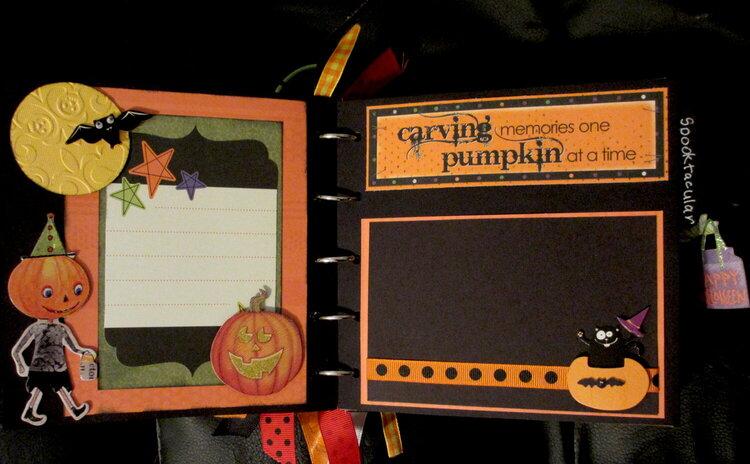 Halloween Mini Page 1 and 2