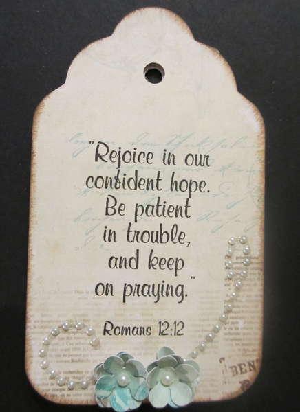 Prayer Tag Front #3