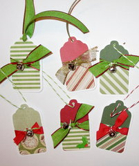 Jingle Christmas tags