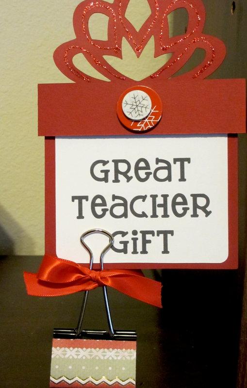 Teacher gift sign for craft fair