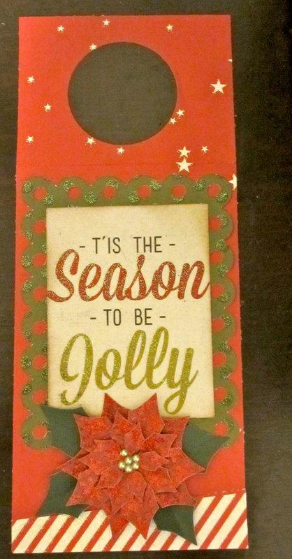Tis the Season Bottle tag