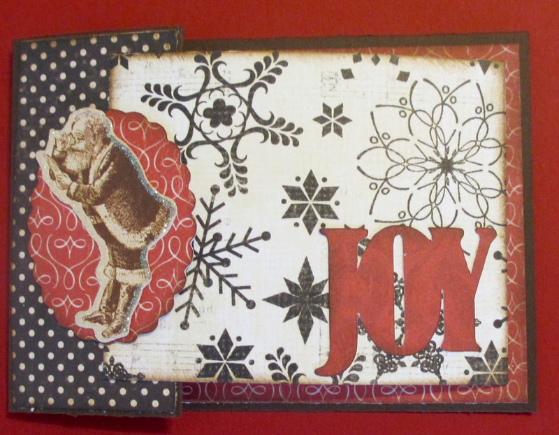 Joy gift card holder
