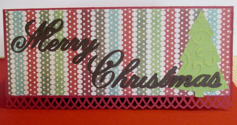 Merry Christmas Money holder