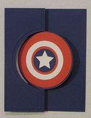 Captain American card