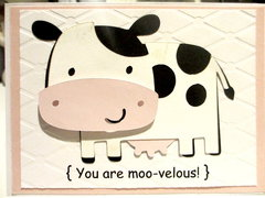 You are moo-velous