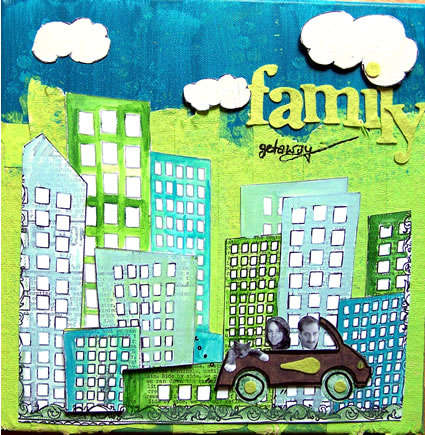 Family Get-Away *Canvas*