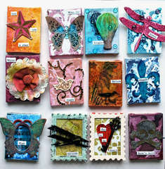 *Tattered Angels* Mini Canvases II