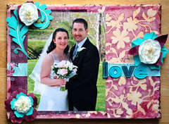 Love Canvas *Prima Marketing and Tattered Angels*