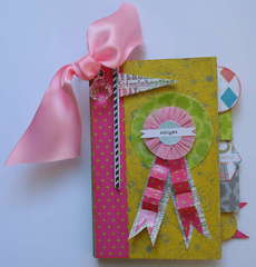 Card/Mini Book (Soriee line Pink Paislee)