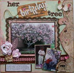 Her Birthday Tree