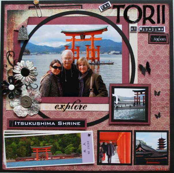 The Torii At Miyajima, Japan
