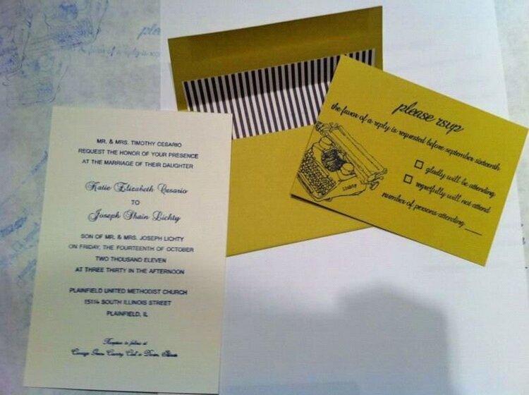 Wedding Invitations - Rustic