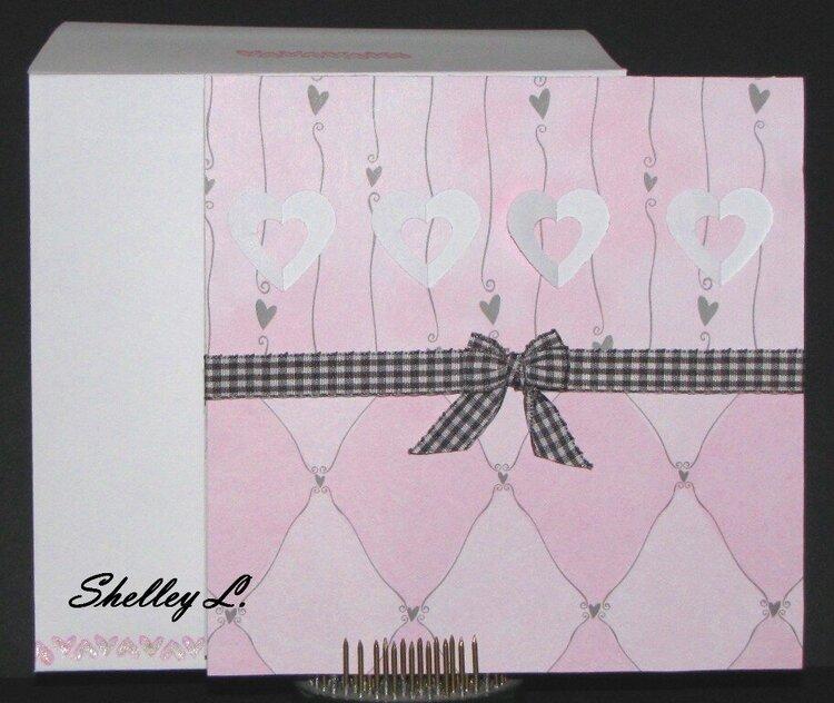 Pink & Gray Hearts