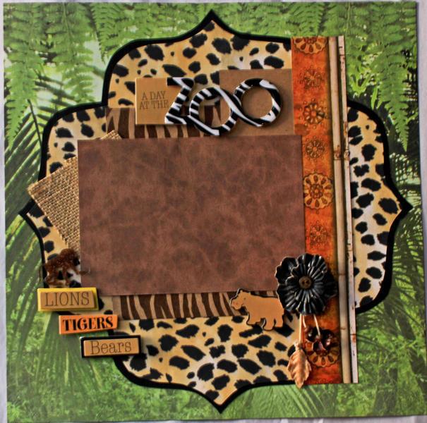Leopard Print Zoo