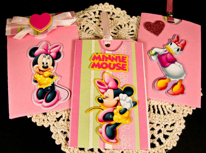 Minnie Mouse Gift Card Holder